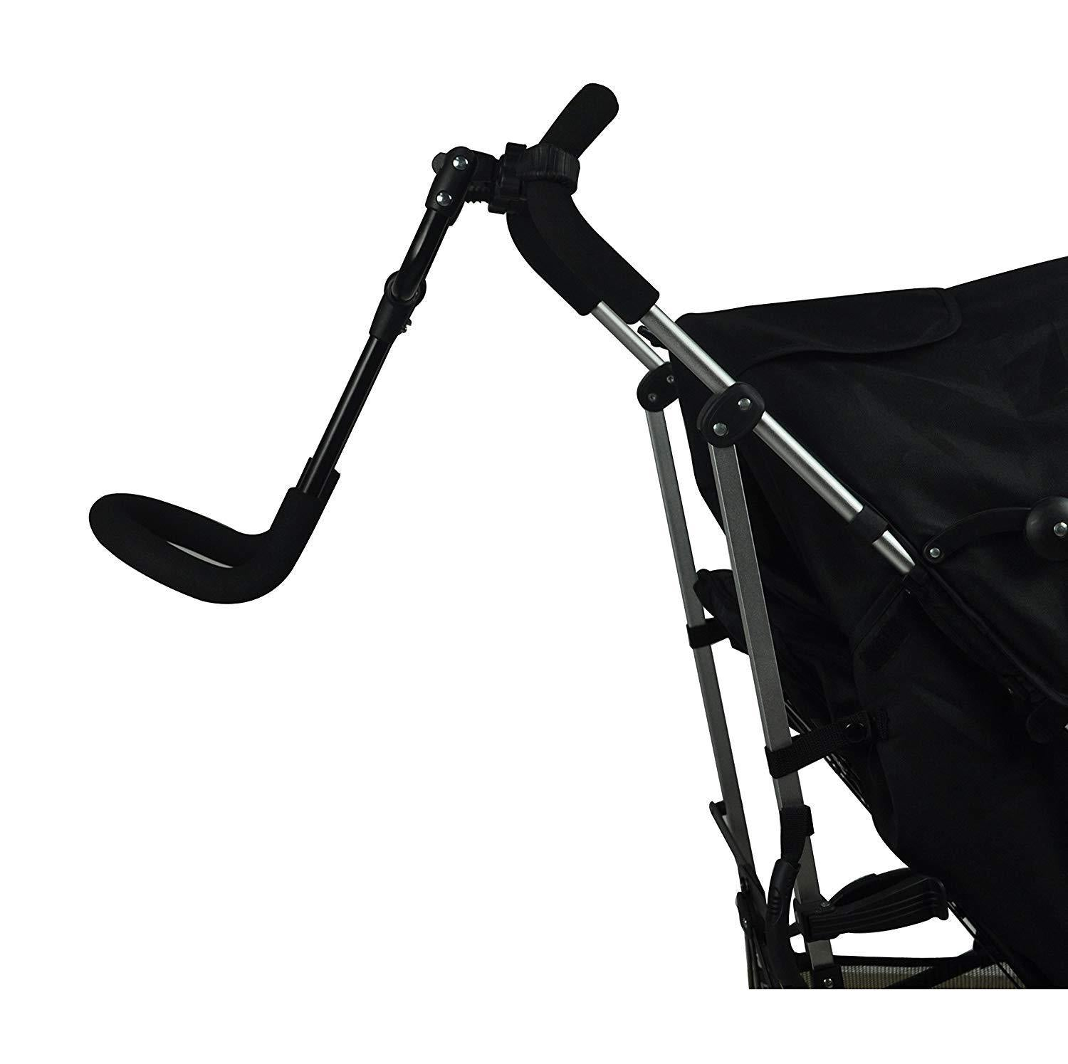 Englacha Cozy Stroll Stroller Handle Extension Bar, Black