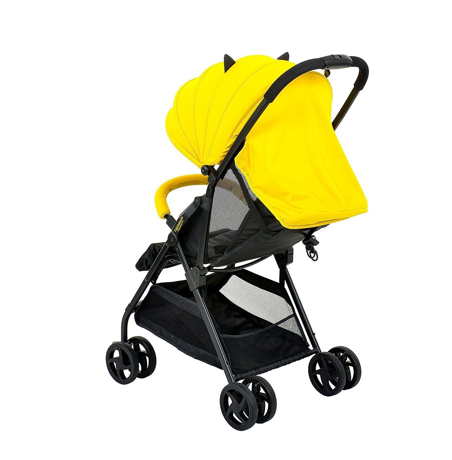 KidsEmbrace Batman Lightweight Compact Stroller, DC Comics in Yellow