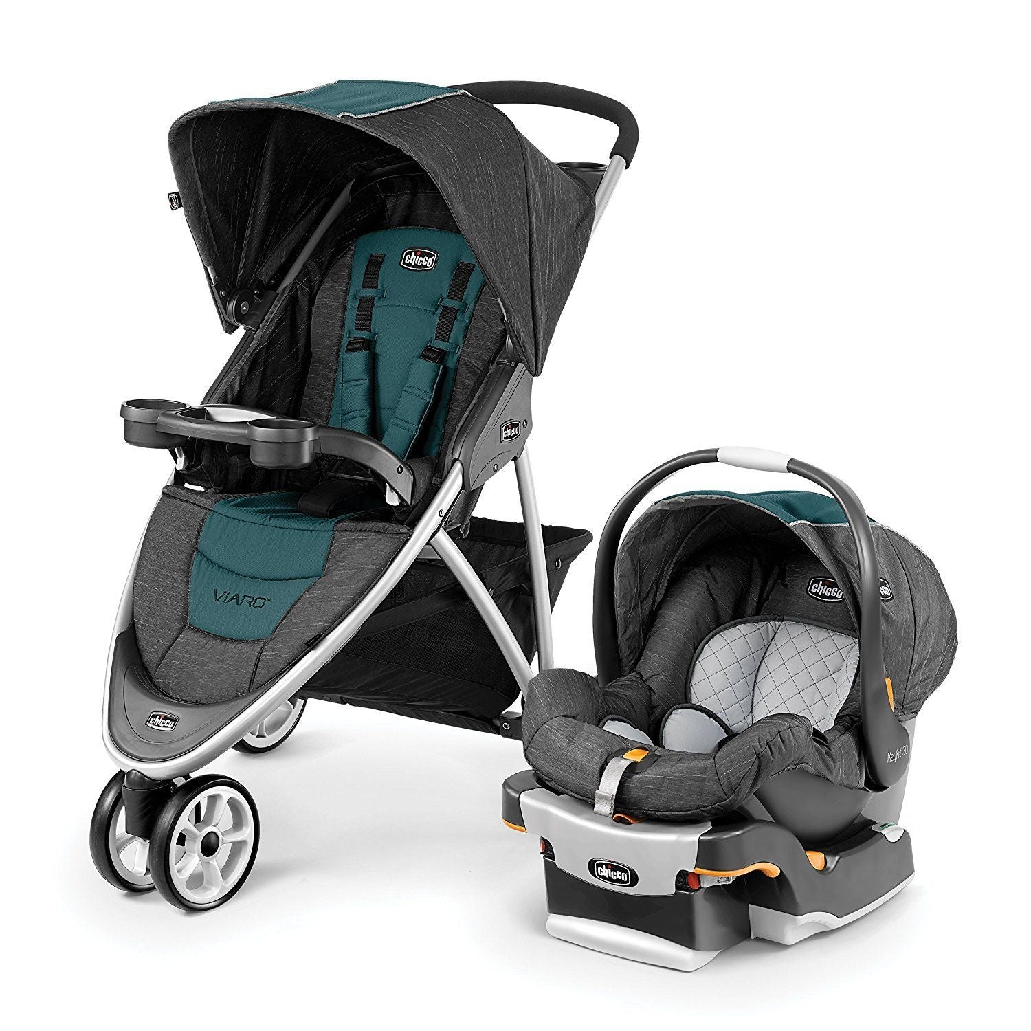 hicco Viaro Travel System in Verdant
