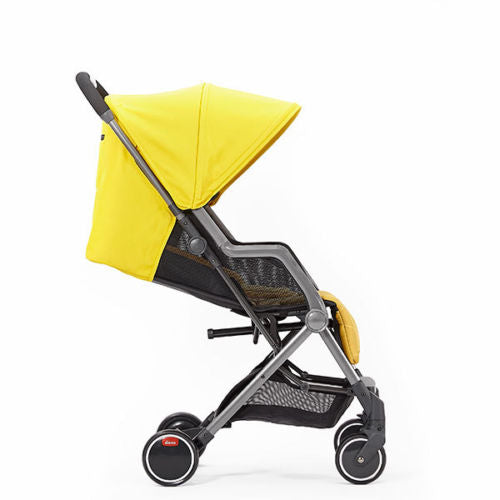 "Diono Traverze Travel Stroller Yellow Sulphur Linear Grey ""Gold Collection"""