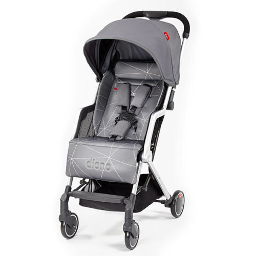 "Diono Traverze Travel Stroller Grey Linear ""Gold Collection"""