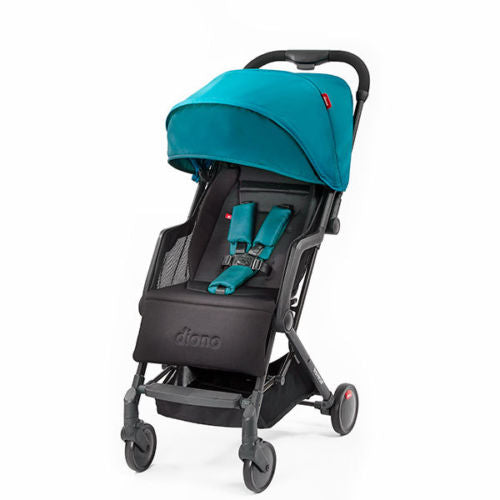 "Diono Traverze Compact Travel Stroller Teal ""Silver Collection"""