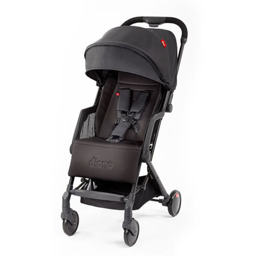 "Diono Traverze Compact Travel Stroller Black ""Silver Collection"""