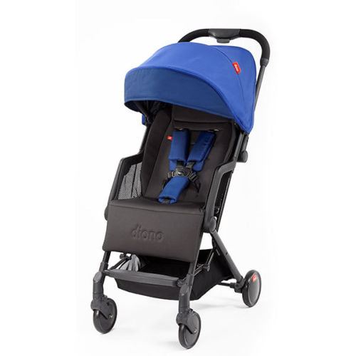 "Diono Traverze Compact Travel Stroller Blue ""Silver Collection"""