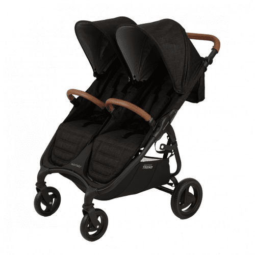 Valco Snap DUO Trend Stroller and Bassinet in Night Black