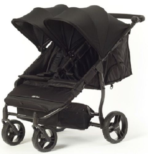 Baby Monsters Easy Twin 2.0 Double Stroller in Black