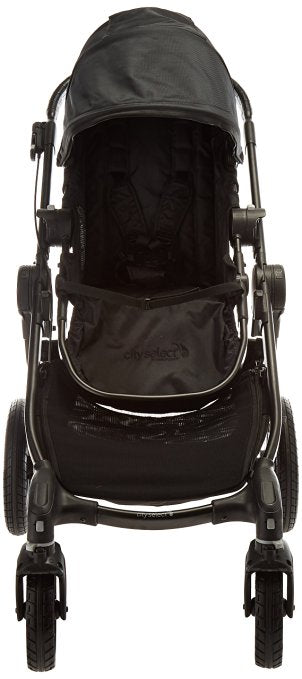 Baby Jogger City Select Single Stroller, Black/Silver