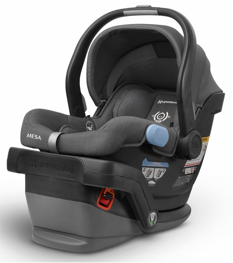 UPPAbaby MESA Infant Car Seat - Jordan (Charcoal Melange) Merino Wool Version/Naturally Fire Retardant