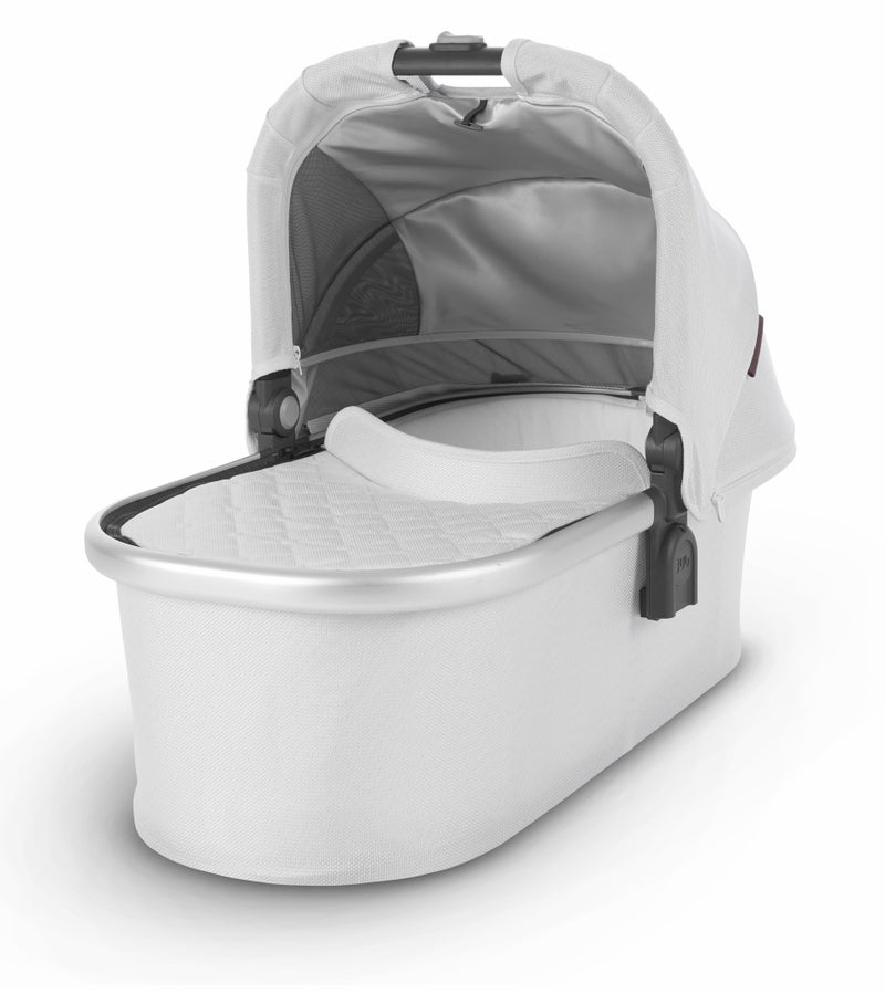 UPPAbaby 2019 Bassinet - Bryce (White Marl/Silver)