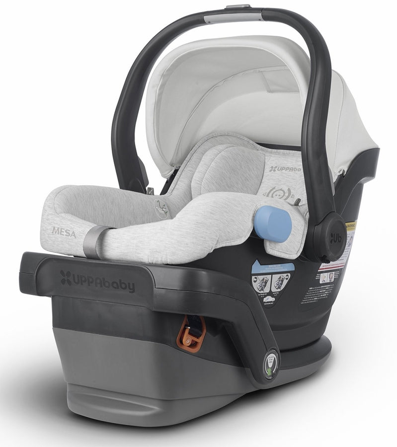 UPPAbaby MESA Infant Car Seat & Base - Bryce (White & Grey Marl)
