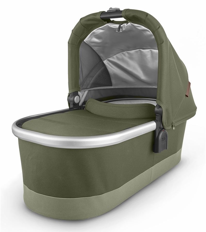 UPPAbaby 2020 Bassinet - Hazel (Olive/Silver/Saddle Leather)