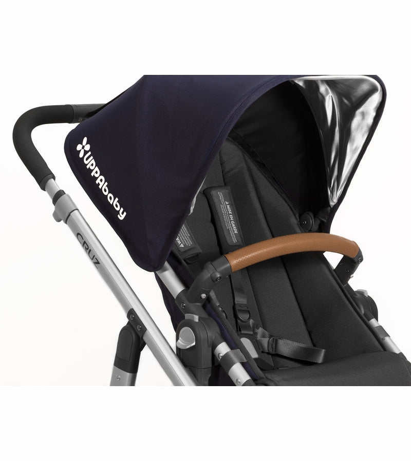 UPPAbaby Vista/Cruz Leather Bumper Bar Cover - Saddle