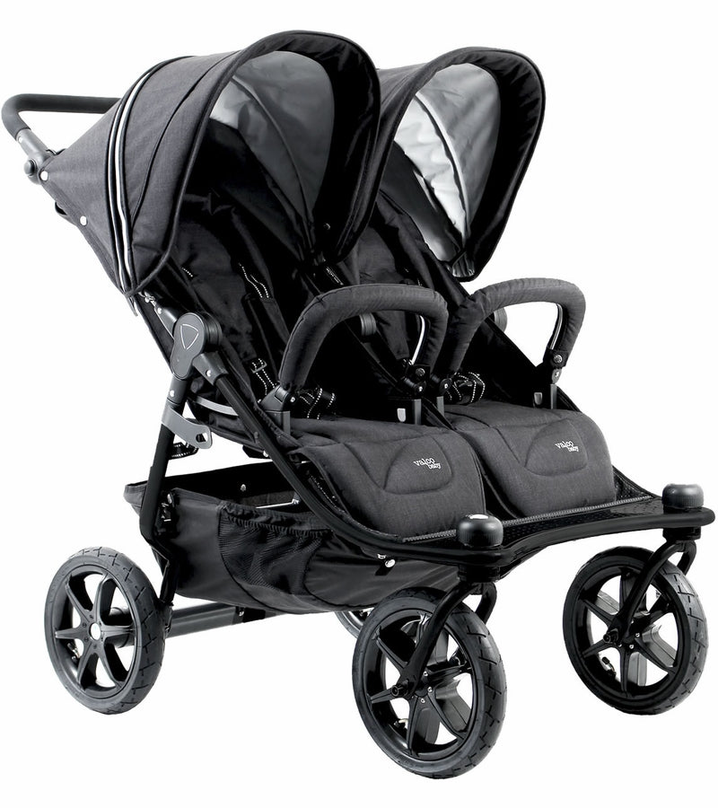 Valco Tri Mode Duo X Double Stroller - Night