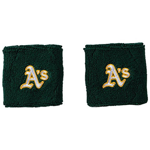 Franklin Sports MLB Oakland Athletics Team Wristbands
