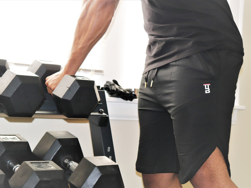 Black Iron Shorts