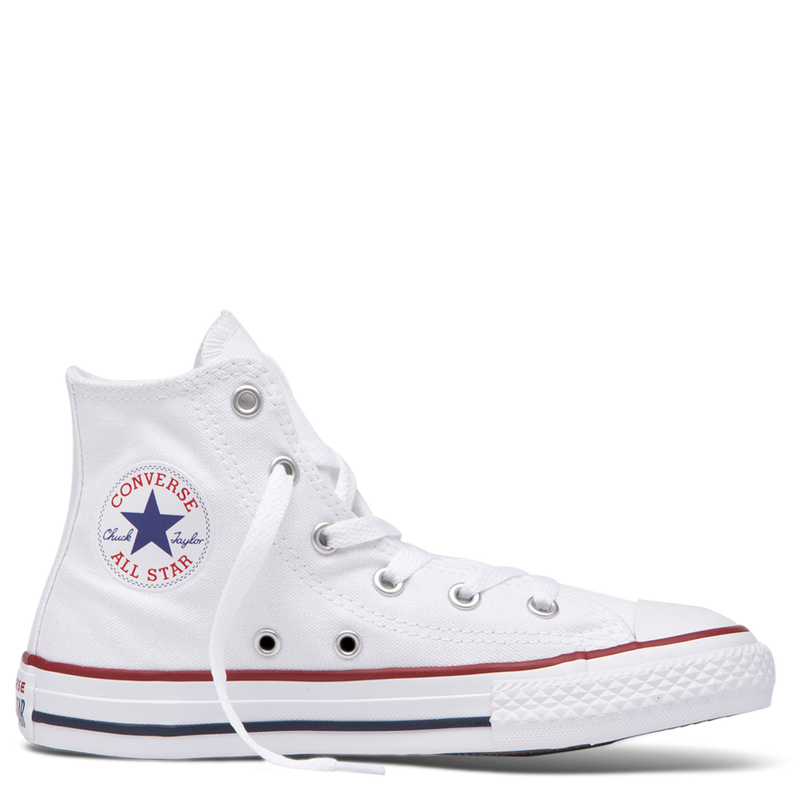 All Star Hi Junior White