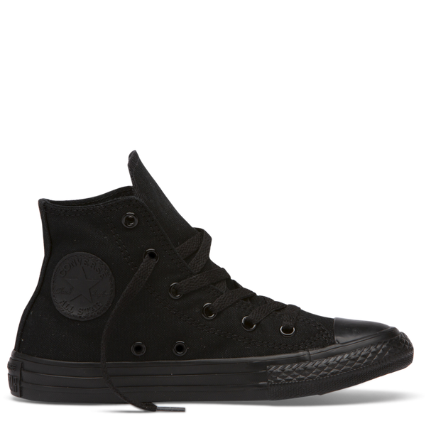 All Star Hi Junior Black Mono