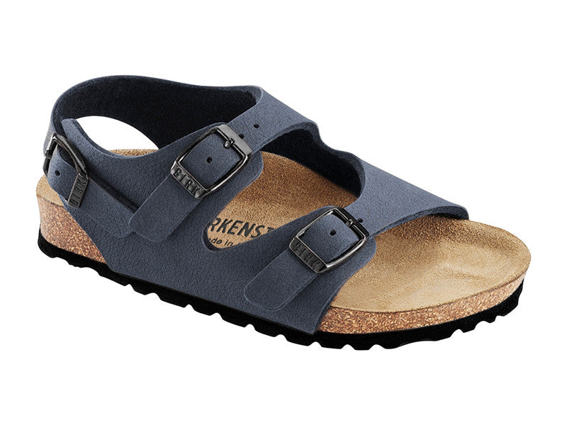 Roma Navy Birko-Flor Narrow Kids