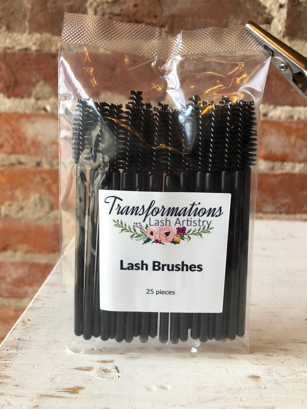 Lash Brushes 25 Pc. | Transformations Lash Artistry