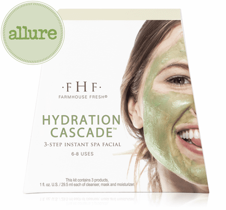 Hydration Cascade™ 3-step Instant Spa Facial | FarmHouse Fresh | Transformations Lash Artistry