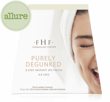 Purely Degunked 3-step Instant Spa Facial | FarmHouse Fresh | Transformations Lash Artistry