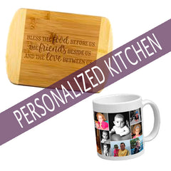 Personalized Kitchen + Drinkware