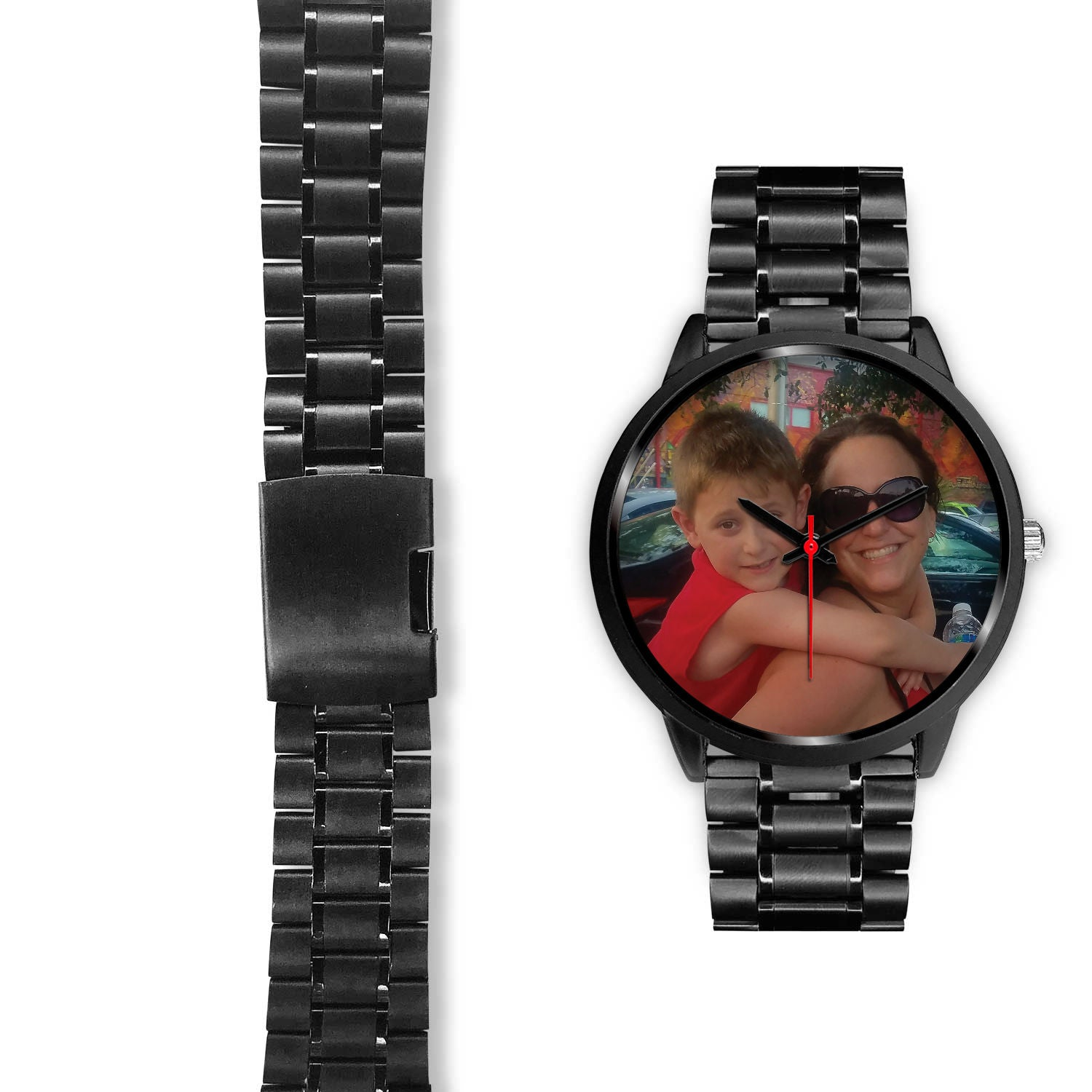 Black Watch With Custom Image