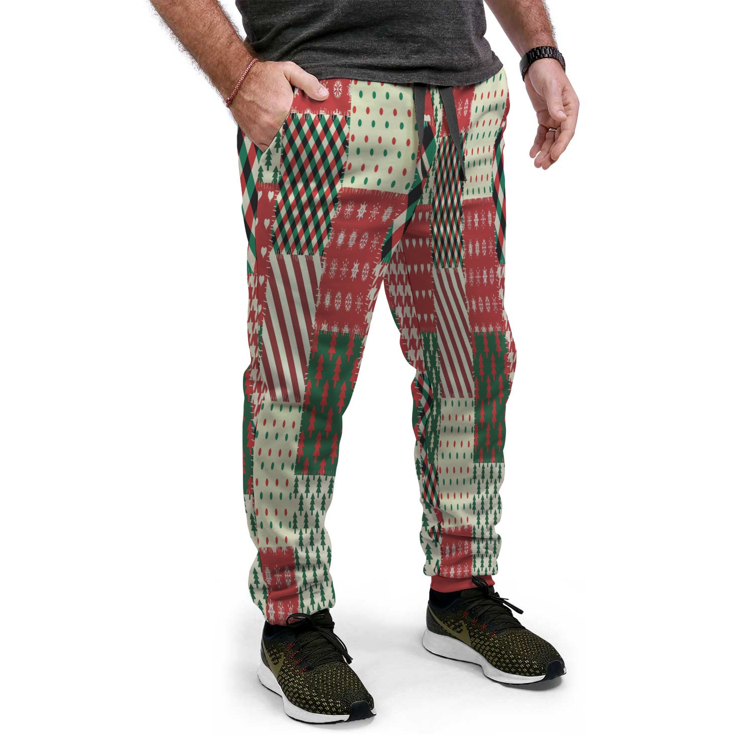 Ugly Christmas Sweat-PANTS | Wrapping Paper Design