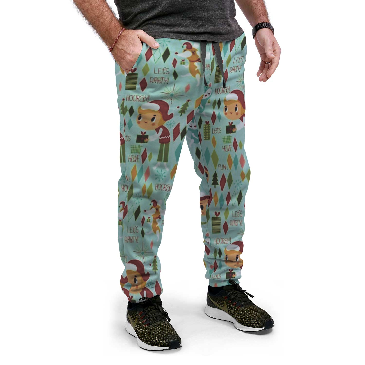 Ugly Christmas Sweat-PANTS | Weird Elves