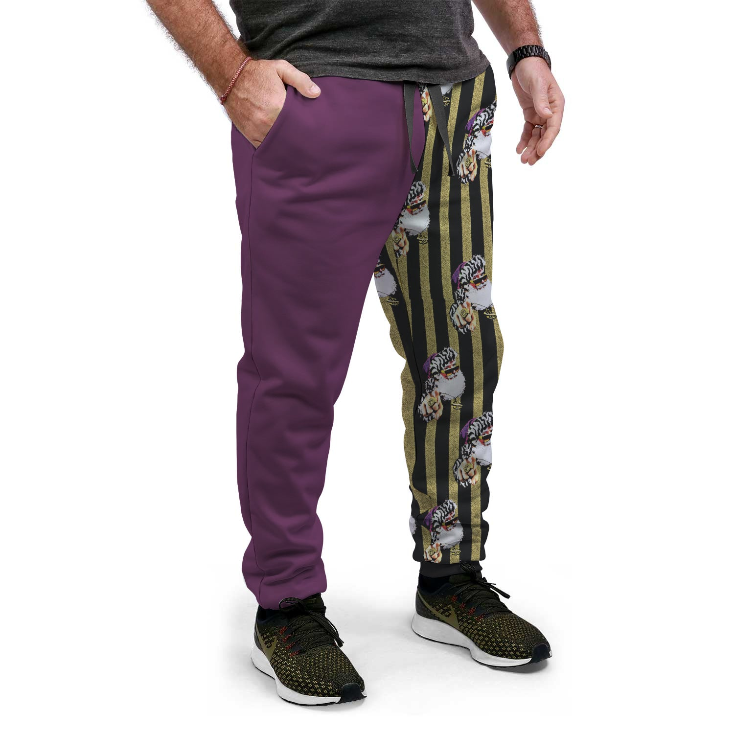 Purple Pimpin' Santa | Ugly Christmas Sweat-PANTS