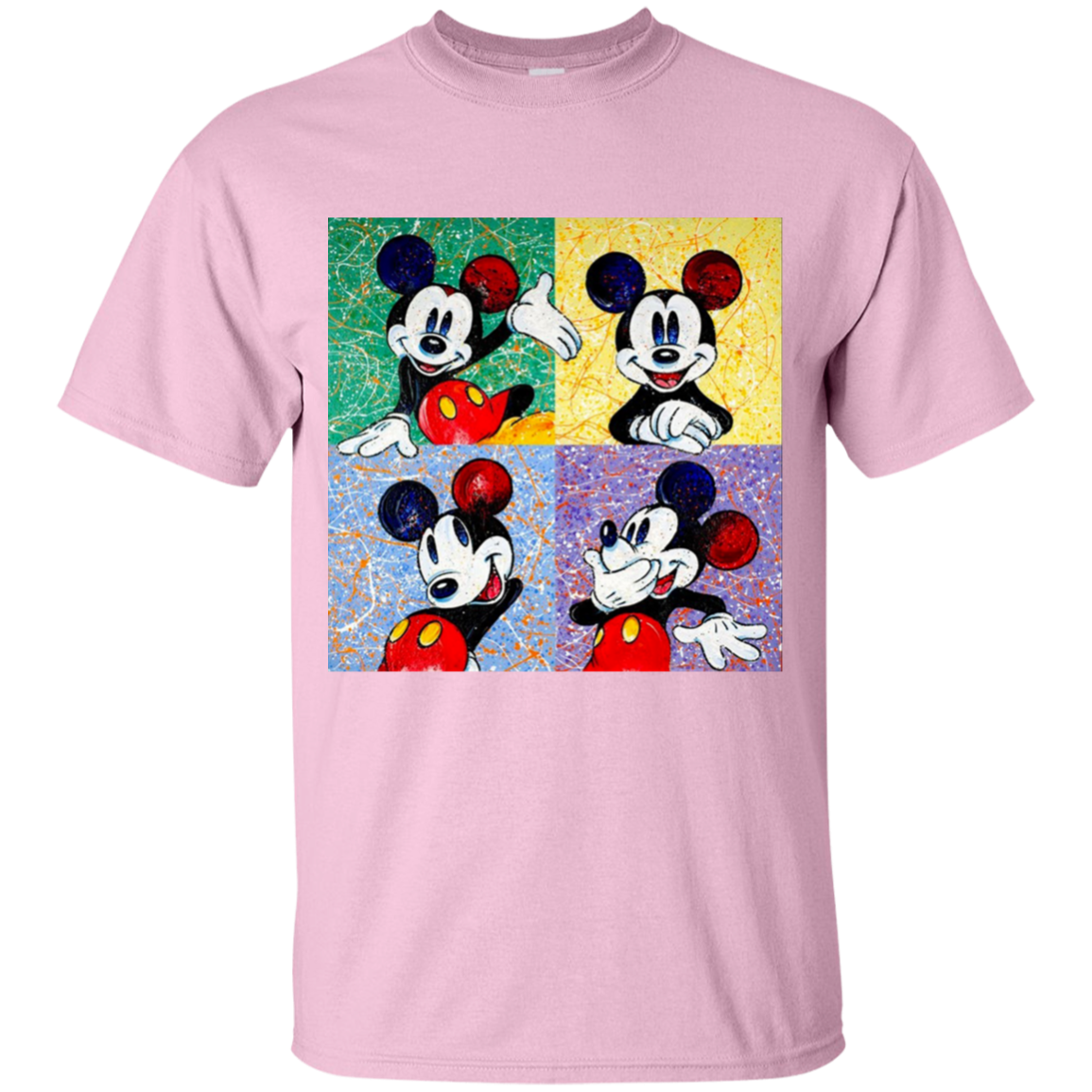 Mickey Mouse Pop Art Splash Youth/Adult