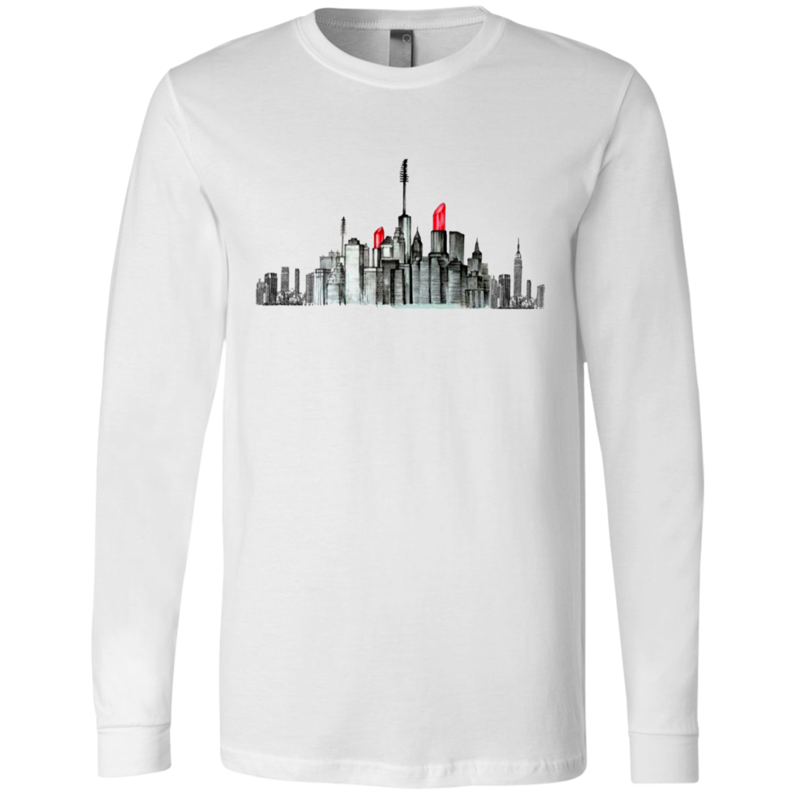 New York Lipstick Skyline Youth/Adult