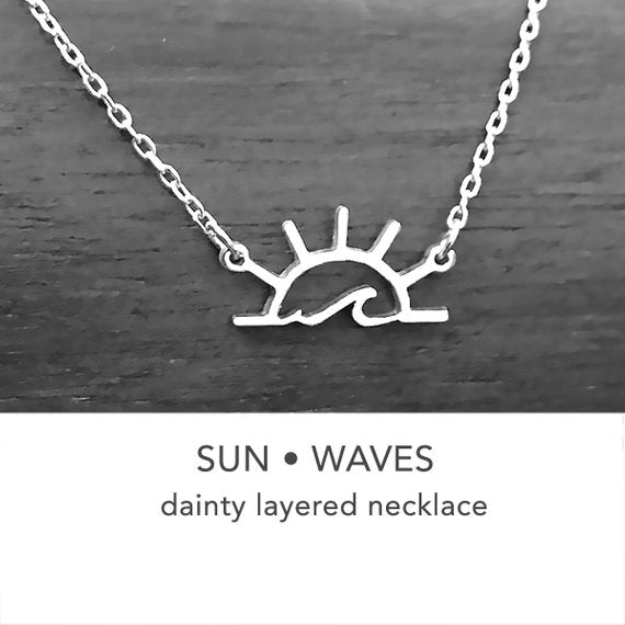 Sunshine Wave Necklace