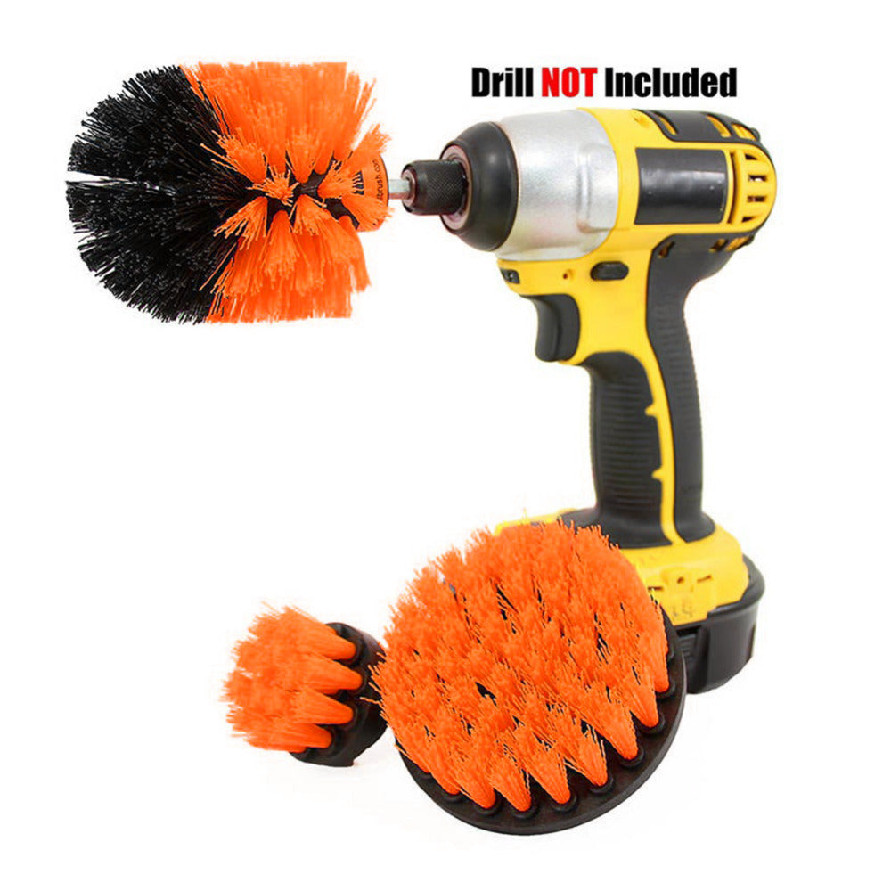 Power Scrub Brush Drill Cleaning Brush For Bathroom Shower Tile Grout Cordless Power Scrubber Drill Attachment Brush Kit