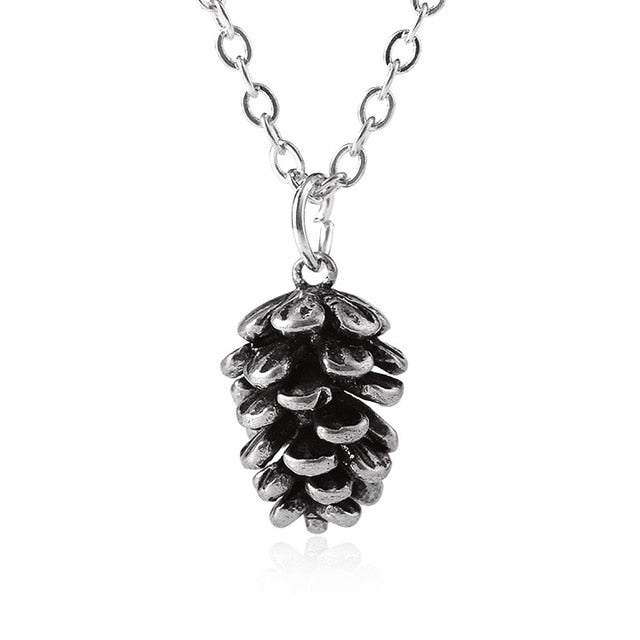 Crystal Acorn Necklace