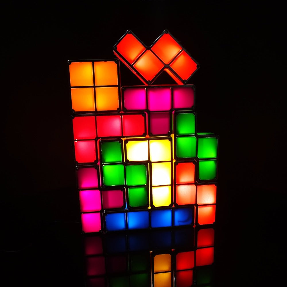 DIY Tetris Puzzle Light