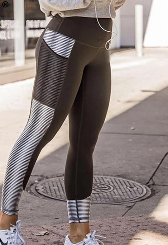 Mesh pocket Athleisure Legging