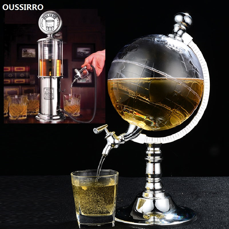Mini Globe Alcohol Dispenser