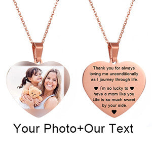 Personalized Nameplate Necklace.