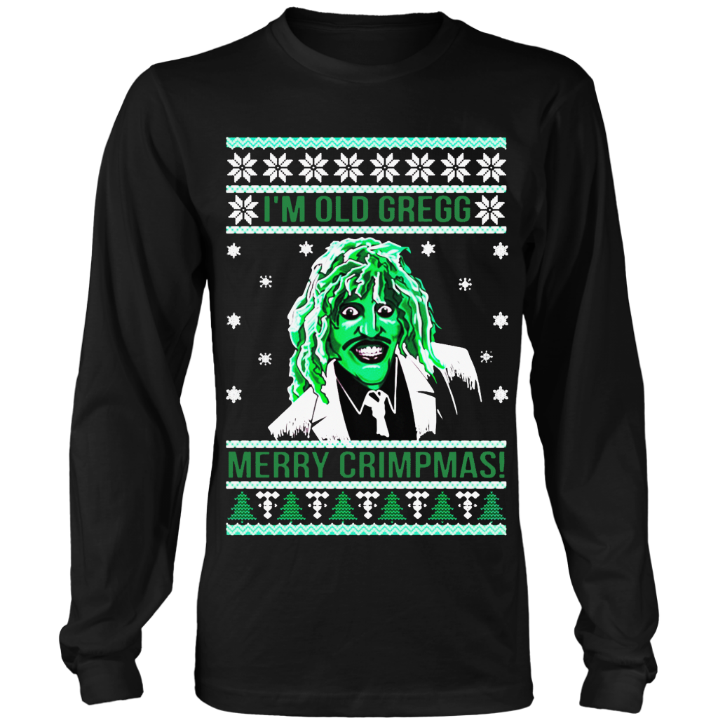 Old Gregg Ugly Christmas Sweater | The Might Boosh