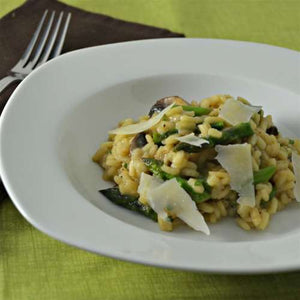 Mushroom Risotto with Black Winter Truffle Salad ( Vegetarian)