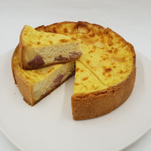 Cheese and Bacon Tart