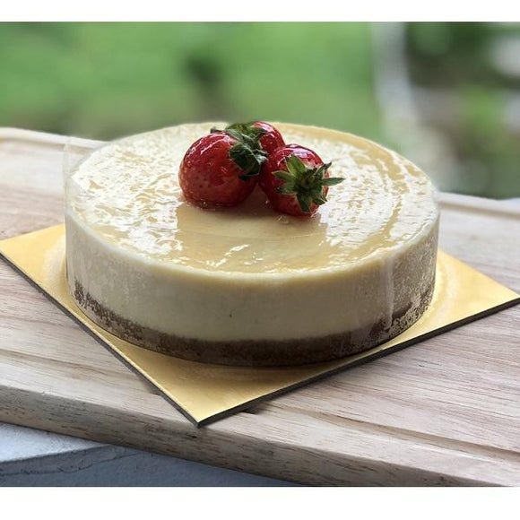(Pre-Order Only: 1 day in advance) Classic Cheese Cake *From 500g onwards*