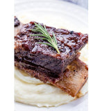 Wagyu Beef Short Ribs Braised in Red Wine (For 2)