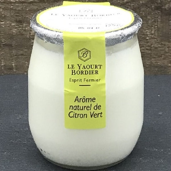(Pre-Order, arrival on 13th October) Bordier Yogurt Lemon Flavour (125g x 6 Glass Jars)