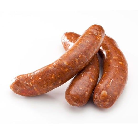 Raw Lamb Merguez Sausage (350g) for BBQ