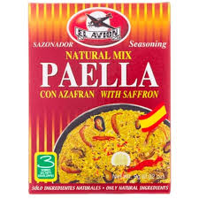 Paella Rice El Avion Mix Seasoning