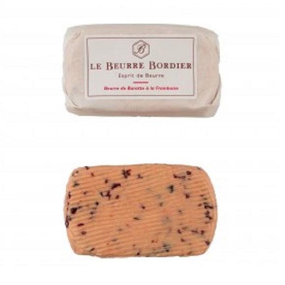 (Pre-Order, arrival on 16th - 17th June) Bordier Raspberry Butter (125g)