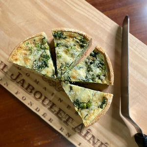 Spinach & Cheese Quiche *Vegetarian* (Half or Whole)