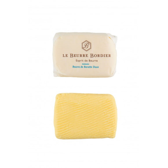 (Pre-Order, arrival on 21st July) Bordier Plain Butter, UnSalted (250g)
